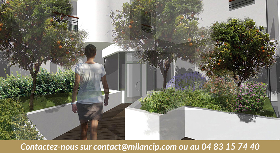 Pied d'immeuble Immobilier Neuf ANTIBES Centre-ville