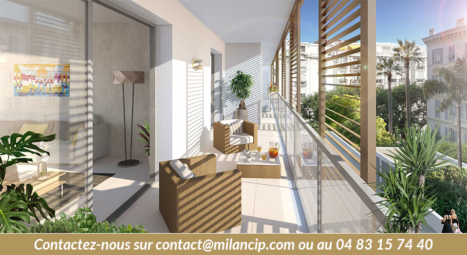 Balcon Nord - Immobilier neuf NICE CENTRE Carabacel