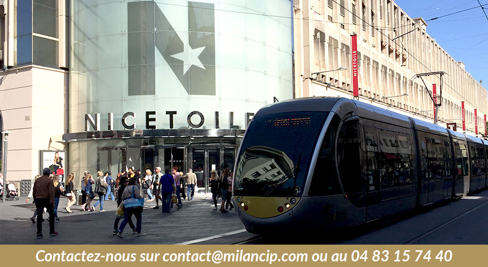 Nice Etoile proche du programme immobilier neuf NICE CENTRE Carabacel