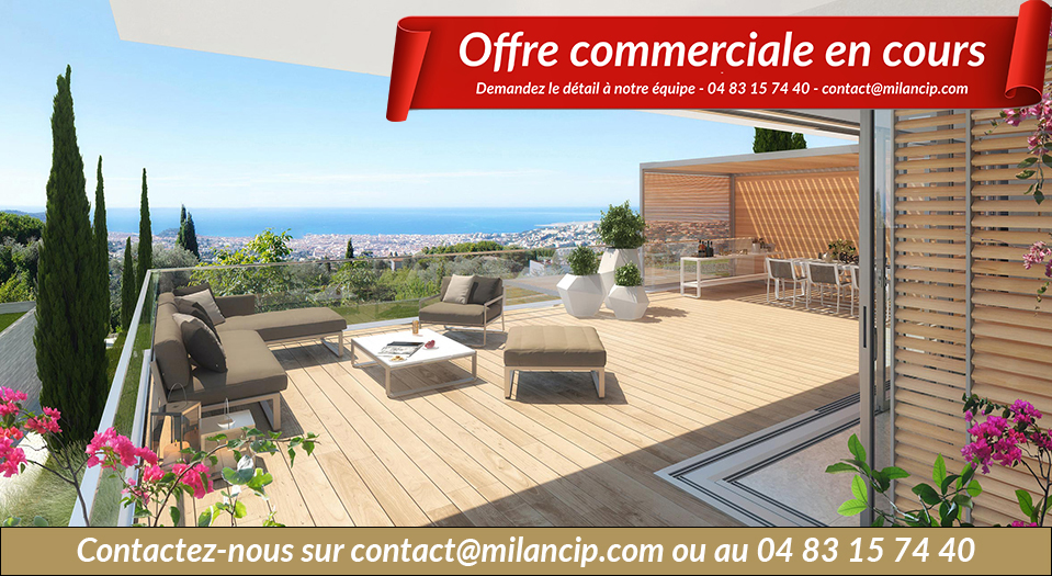 Immobilier neuf NICE  Gairaut - Vue du domaine