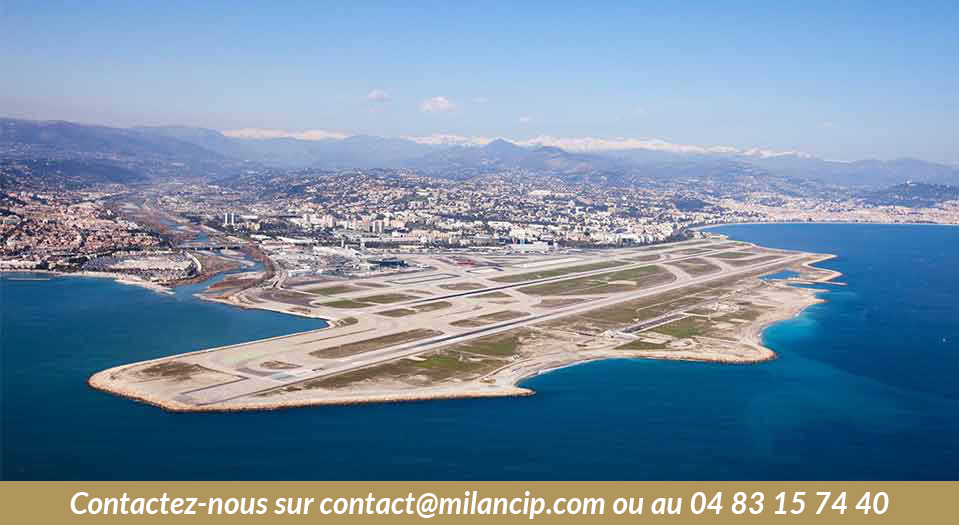 Programme neuf NICE OUEST St Isidore - L'aéroport de Nice