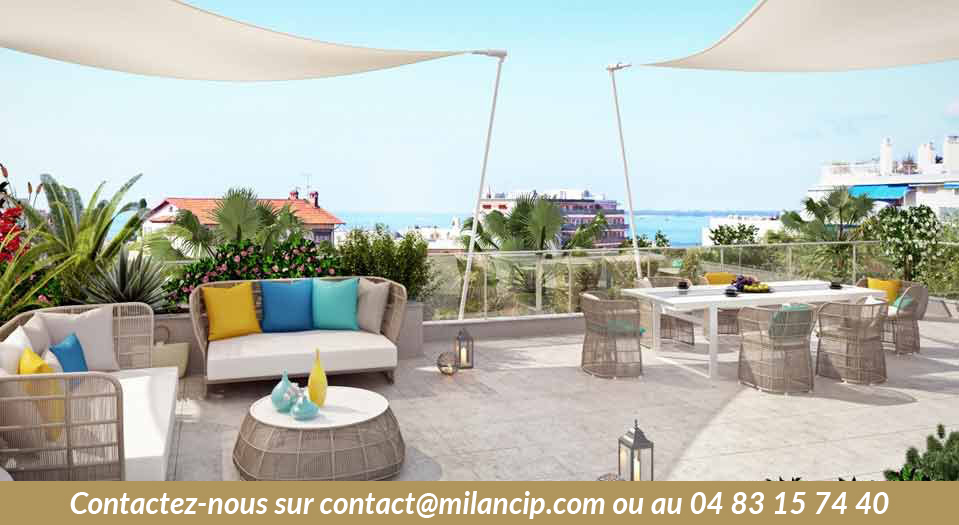 Programme neuf ANTIBES Tanit - Terrasse sur le toit