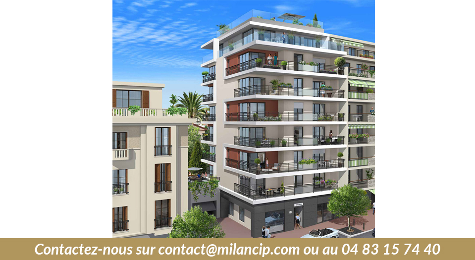 Immobilier neuf ANTIBES Wilson - Facade