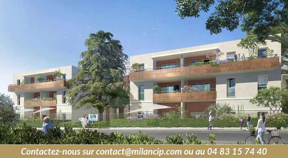 Immobilier neuf JUAN LES PINS Proche plage