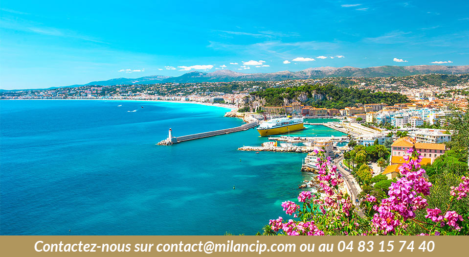 Immobilier neuf NICE CENTRE Angely - Le littoral