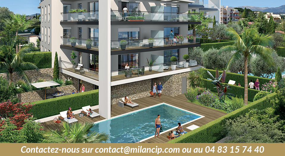Appartements neufs ANTIBES Le Puy - Piscine