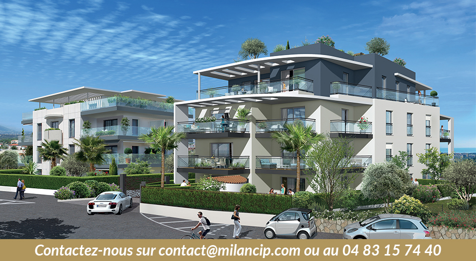 Appartements neufs ANTIBES Le Puy - Facade