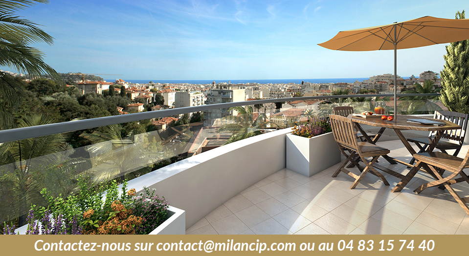 Immobilier neuf NICE CENTRE Cessole - Terrasse