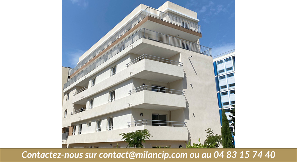 Immobilier neuf ANTIBES Tanit - Façade Ouest