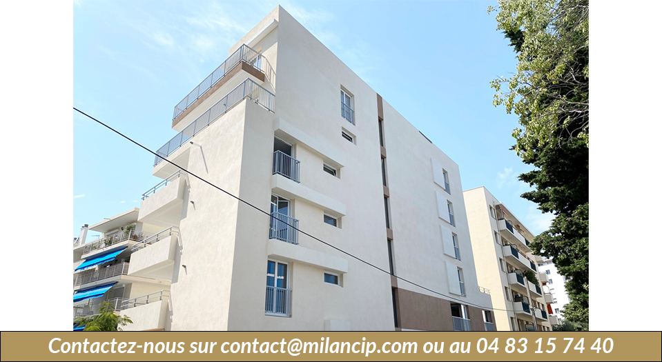 Immobilier neuf ANTIBES Tanit - Façade Est