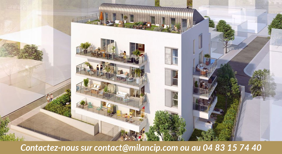 Appartements neufs NICE CENTRE Parc Chambrun