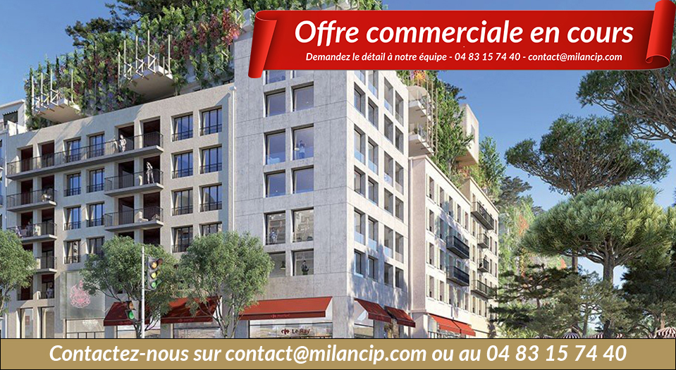 Immobilier neuf NICE CENTRE Le Ray - Plan masse