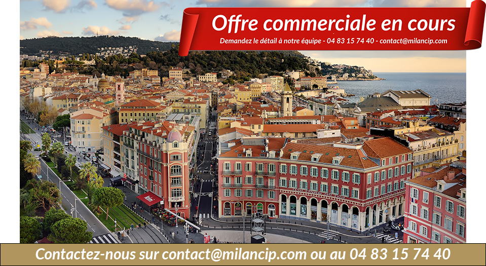Immobilier neuf NICE CENTRE Le Ray - vue de Georges Bidault