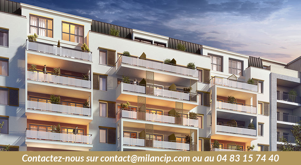 Immobilier neuf 06 NICE CENTRE St Roch - Vue approchée