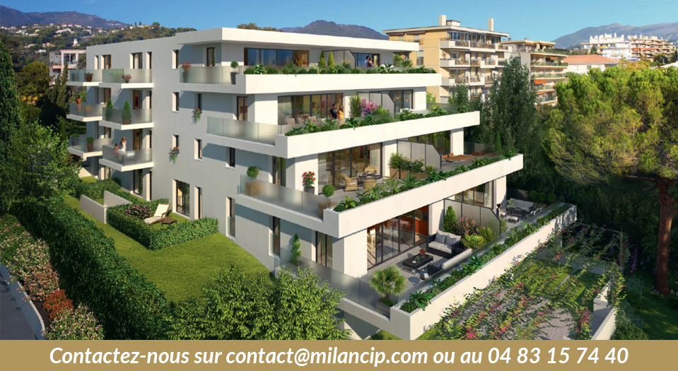 Immobilier neuf NICE CENTRE Cimiez - Perspective