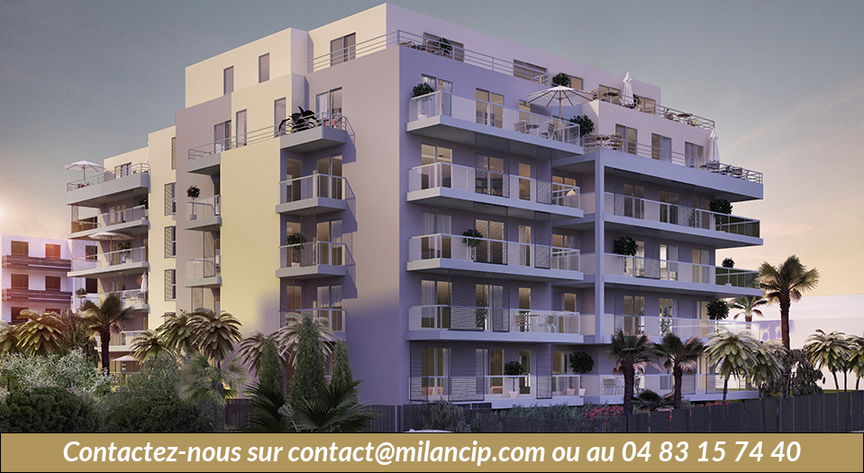 Immobilier neuf JUAN LES PINS Proche plages