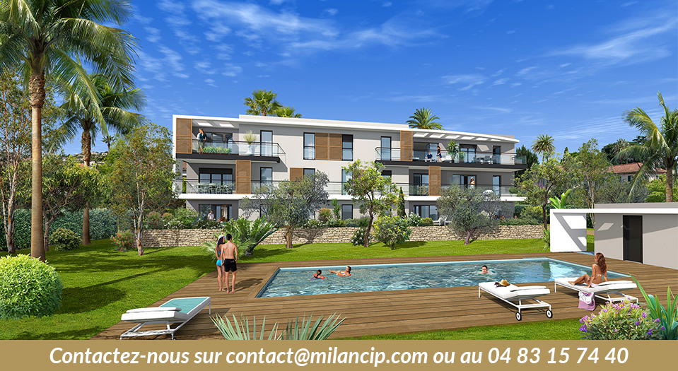 Appartements neufs GOLFE-JUAN - Piscine - Proche Port / CIP-485