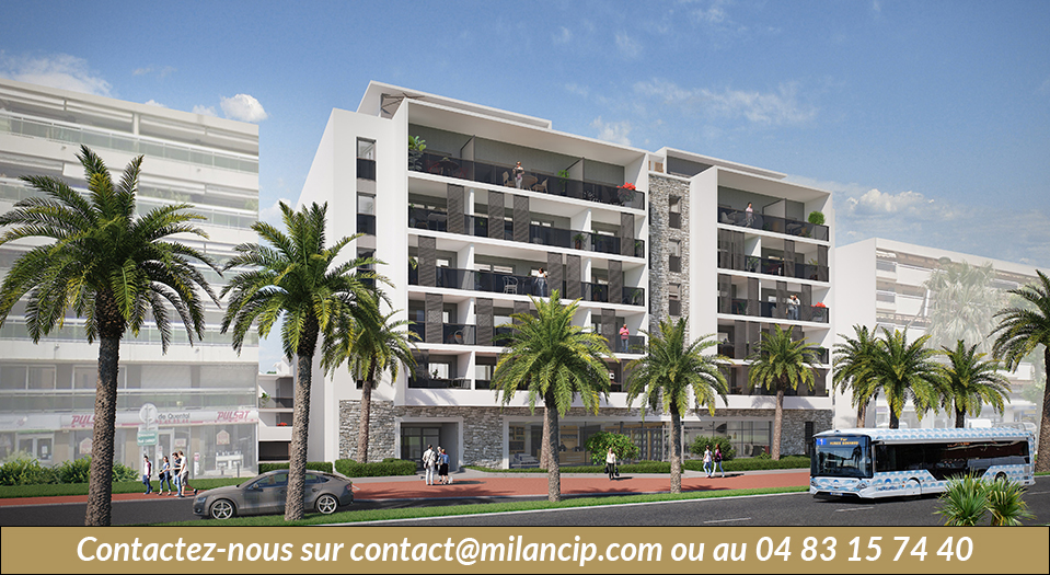 Immobilier neuf LE CANNET Bd Carnot - Le patio