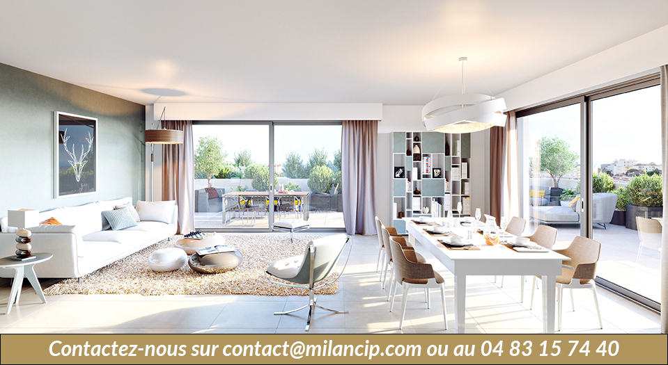 Immobilier neuf LE CANNET Bd Carnot - Facade 2