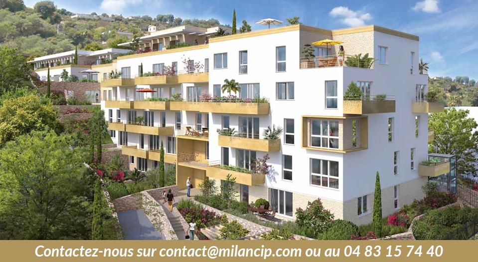 Programme neuf de Cagnes / Val Fleuri / CIP-513
