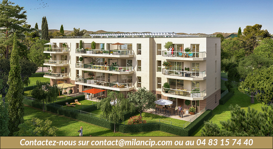 Immobilier neuf ANTIBES Jules Grec - Facade 1