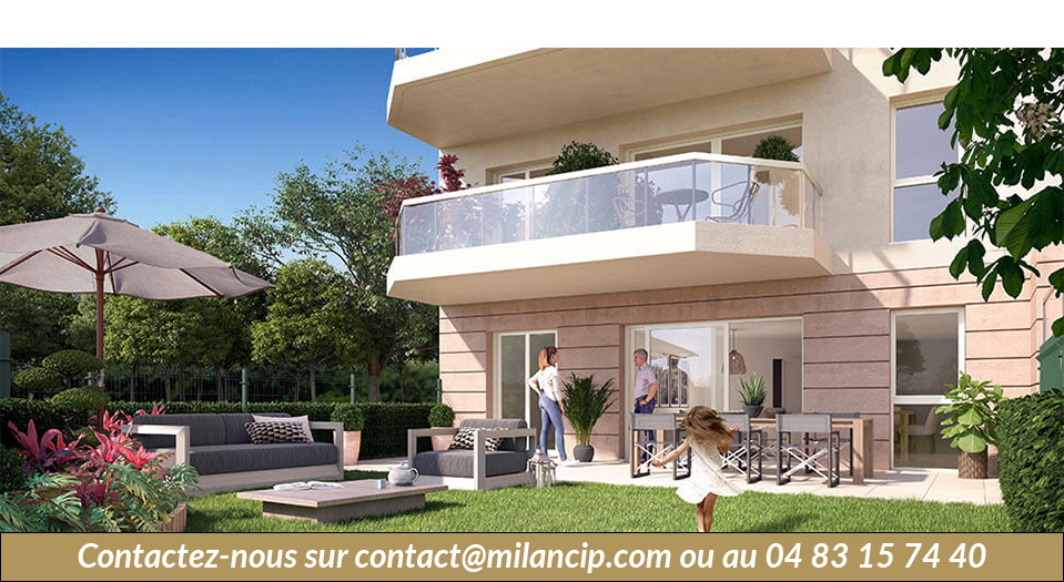 Immobilier neuf ANTIBES Jules Grec - Plan masse
