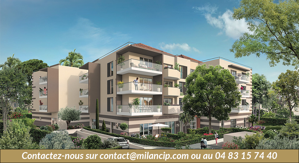 CIP-556 - Programme neuf Cagnes sur Mer Polygone Riviera