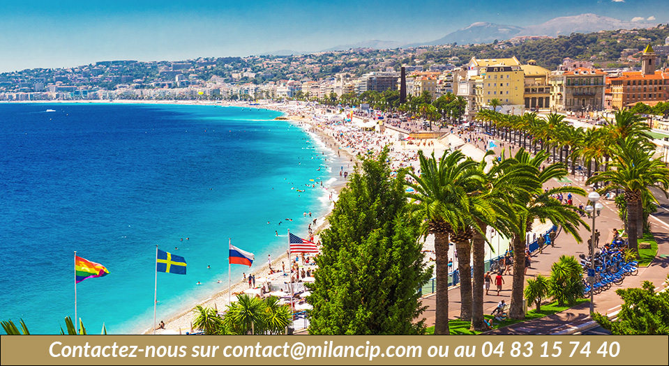 Nice - La Baie des Anges - Immobilier neuf - MILAN CIP