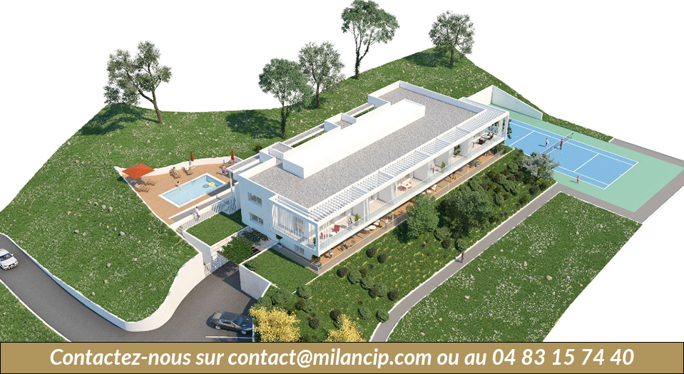 NICE CENTRE -Piscine & tennis - CIP-569
