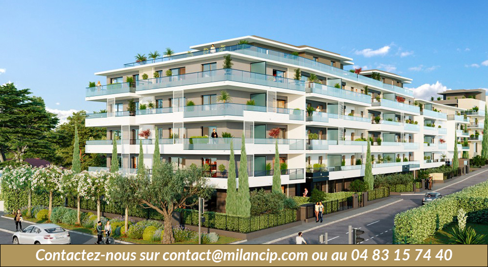Immobilier neuf CAGNES SUR MER Proche plage - programme