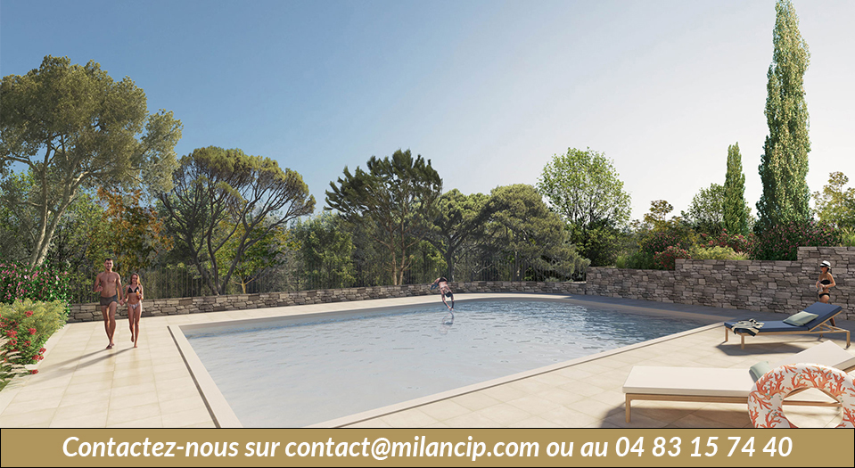 Programme neuf MOUGINS Proche de Sophia Antipolis - piscine