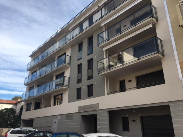 seconde façade de la résidence neuve de Cannes Croisette
