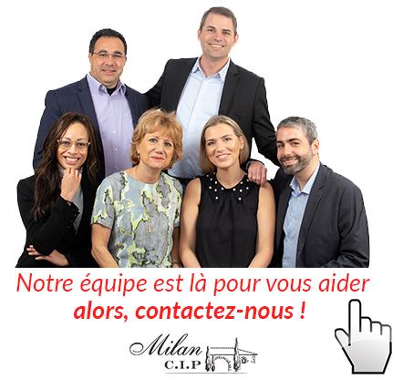 L'équipe MILAN CIP au service de ses clients