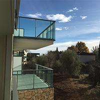 Programme neuf de Valbonne - Vue d'une terrasse
