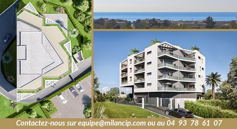 Diamond Riviera - Cagnes sur Mer : Un programme neuf ouvert aux investisseurs Pinel