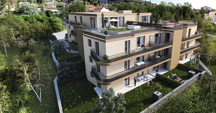La Badiane, un programme neuf initié par MILAN CIP va sortir de terre à Vence