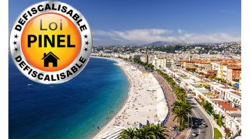 La sélection d'Antoine : 10 appartements 2 pièces neufs sur Nice entre 180.000 € et 230.000 €