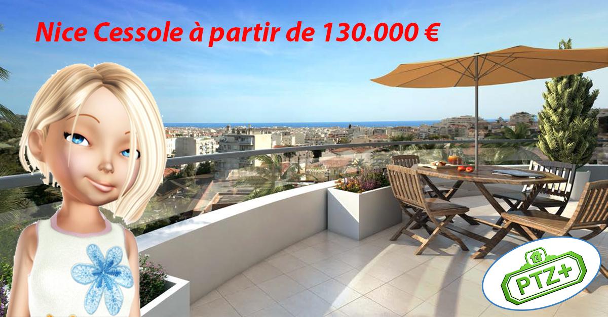 Nice Cessole - Bénéficiez du prêt à taux zéro pour votre appartement neuf à Nice Cessole